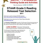 STAAR Released Item: Letter to the Editor Gr 5, Persuasive Text