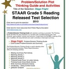 STAAR Released Item: Stage Fright, Poem with Prob/Sol Plot