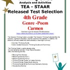 STAAR Released Poem: Carmen Activities