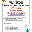 STAAR Released Test Analysis &amp; Activities Poem:The Well Worn Path