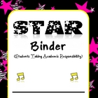 STAR Binder Cover Set