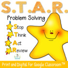 Problem Solving Strategies, STAR Thinking Steps