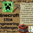 STEM Engineering Challenge Pack ~ Minecraft Challenges ~ S