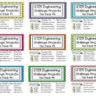 STEM Engineering Challenge Projects ~ TEN PACKS #1- #9
