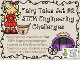 STEM Engineering Challenges Pack ~ Fairy Tales Set #2 ~ Se