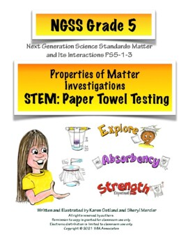 STEM: Investigate the Properties of Matter - Paper Towel Testing