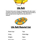 STEM Project Life Raft