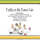 STEM Science Lab Safety and Equipment - Scenarios, Posters