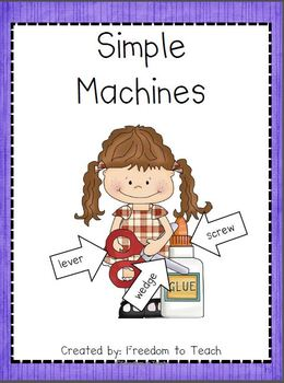 STEM:SIMPLE MACHINES: common core activities/ inquiry base