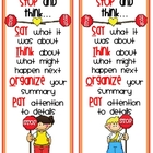 STOP Comprehension Bookmark