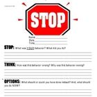 STOP Sheet