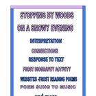 STOPPING BY WOODS ROBERT FROST