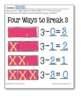 SUBTRACT to Decompose - Hands On for 2 3 5 and 6 (set 4)