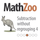 SUBTRACTION WITHOUT REGROUPING 4: Layout 2 digit subtracti