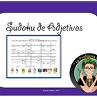SUDOKU! Review of Spanish Adjectives (recently updated!)