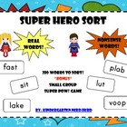 SUPER HERO SORT