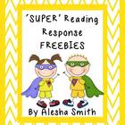 &#039;SUPER&#039; Reading Response FREEBIE