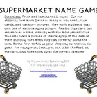 SUPERMARKET NAME GAME