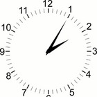 SVG Adjustable Clock