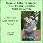 Spanish Saber Conocer PowerPoint