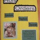 Sacrament of Holy Orders Catholic Lapbook