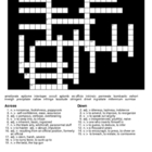 Sadlier-Oxford Level F Vocab. Unit 2 Crossword & Word Search