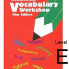 Sadlier-Oxford Vocabulary Workshop Level E tests