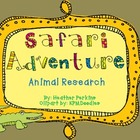 Safari Adventure Animal Research