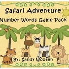 Safari Adventure Differentiated Number Word Games (1.NBT.2