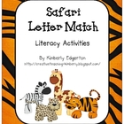 Safari Letter Match