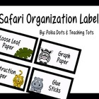 Safari Organization Labels