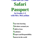 Safari Passport