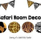 Safari Room Decor Pack