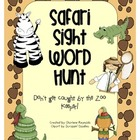 Safari Sight Word Hunt