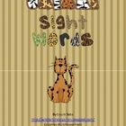 Safari Sight Word Matching