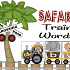 Safari Train Words - 1st Grade Sight Word Activity