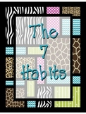 Safari themed 7 habits
