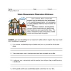 Safety, Measurement, Observation & Inference Worksheet