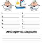 Sail Away: Vowel teams long a ai/ay sort