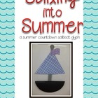 Sailing into Summer: A Summer Countdown Sailboat Glyph