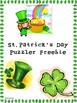 Saint Patick&#039;s Day Puzzler Freebie