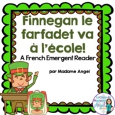 Saint Patrick's Day Emergent Reader in French: Le farfadet