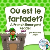 Saint Patrick's Day Emergent Reader in French: Où est le f