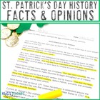 Saint Patrick's Day History with Facts & Opinions