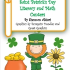 Saint Patrick&#039;s Day Literacy and Math Centers