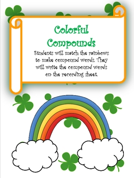 Saint Patrick's Day Literacy and Math Centers