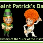 Saint Patrick's Day Powerpoint Holiday History Lesson