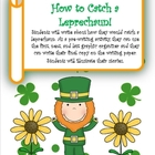 Saint Patrick&#039;s Day Writing 