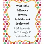 Saltwater vs. Freshwater Lab exploration activity