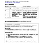 Writing - Peer Review Rubrics